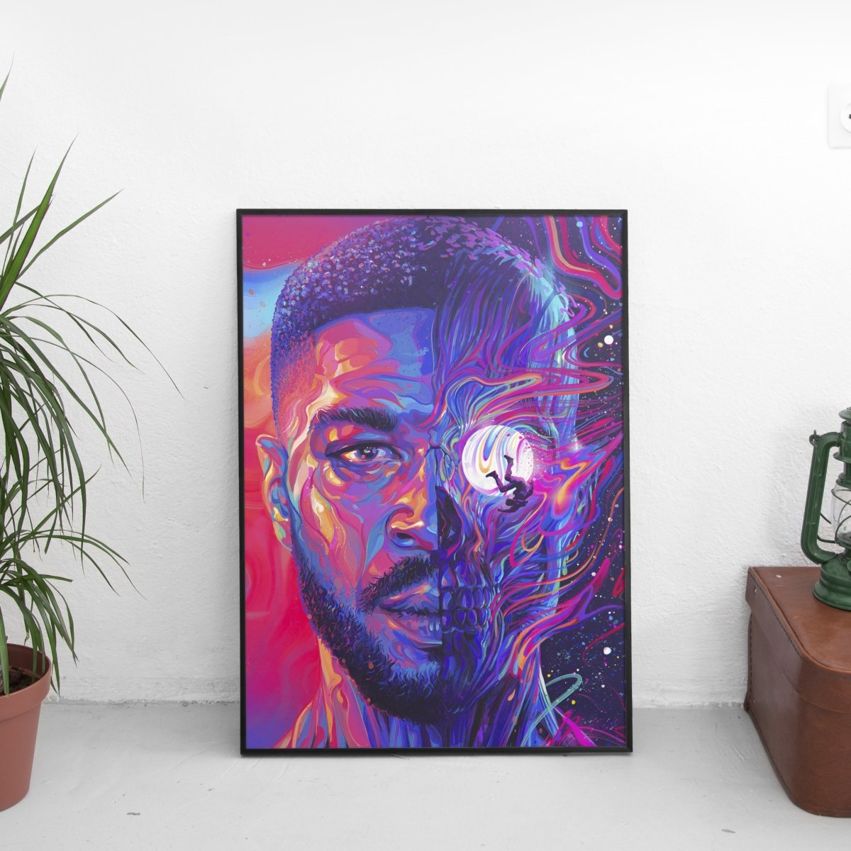 Kid Cudi - Man On The Moon III The Chosen Cover Art Poster