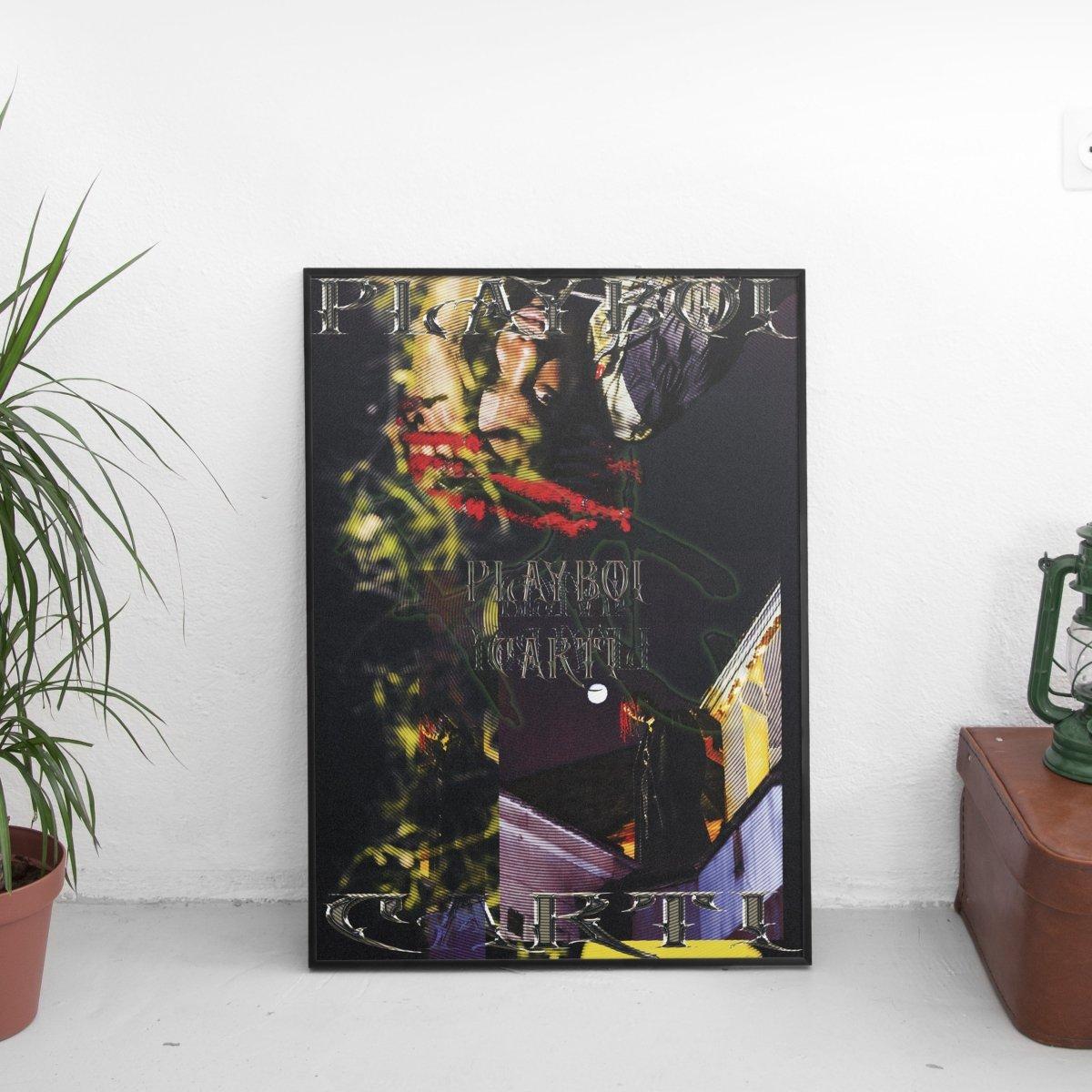 Playboi Carti - Retro Poster