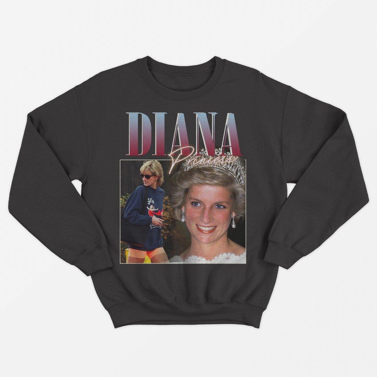 Princess Diana Vintage Unisex Sweater