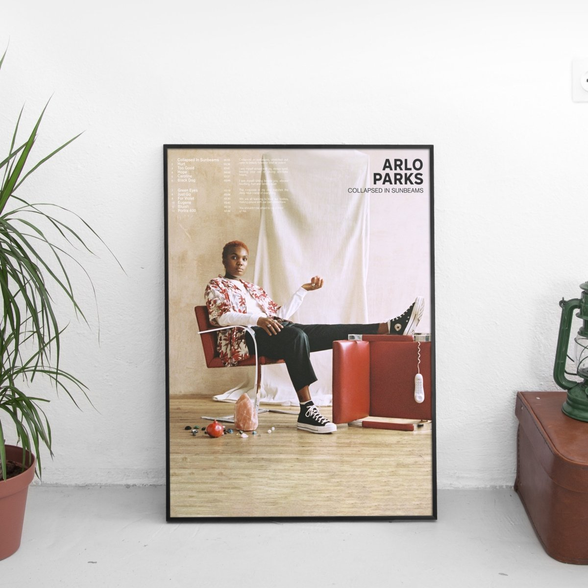 Arlo Parks - Collapsed In Sunbeams Cover Art Poster