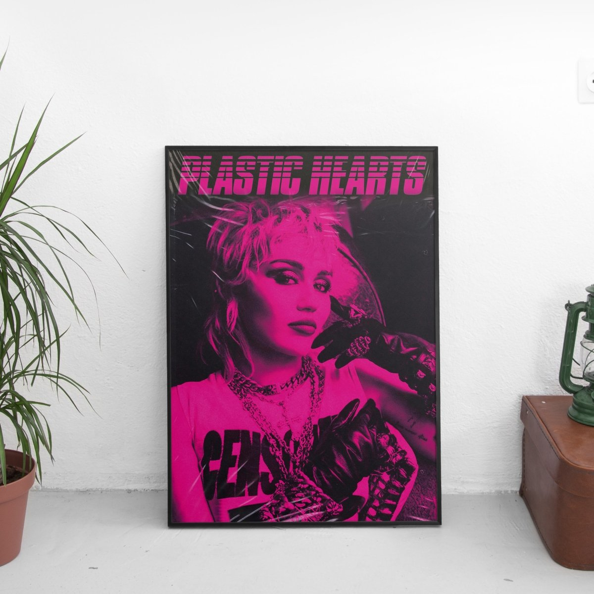 Miley Cyrus - Plastic Hearts Cover Art Poster