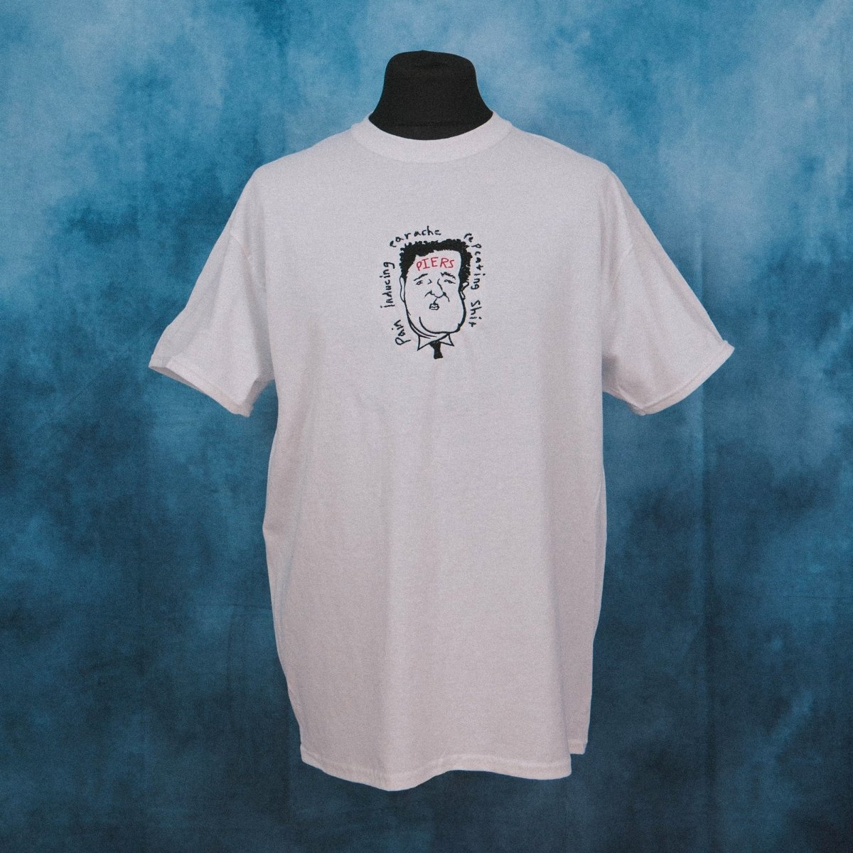 Piers Morgan Meme Unisex Embroidered T-Shirt