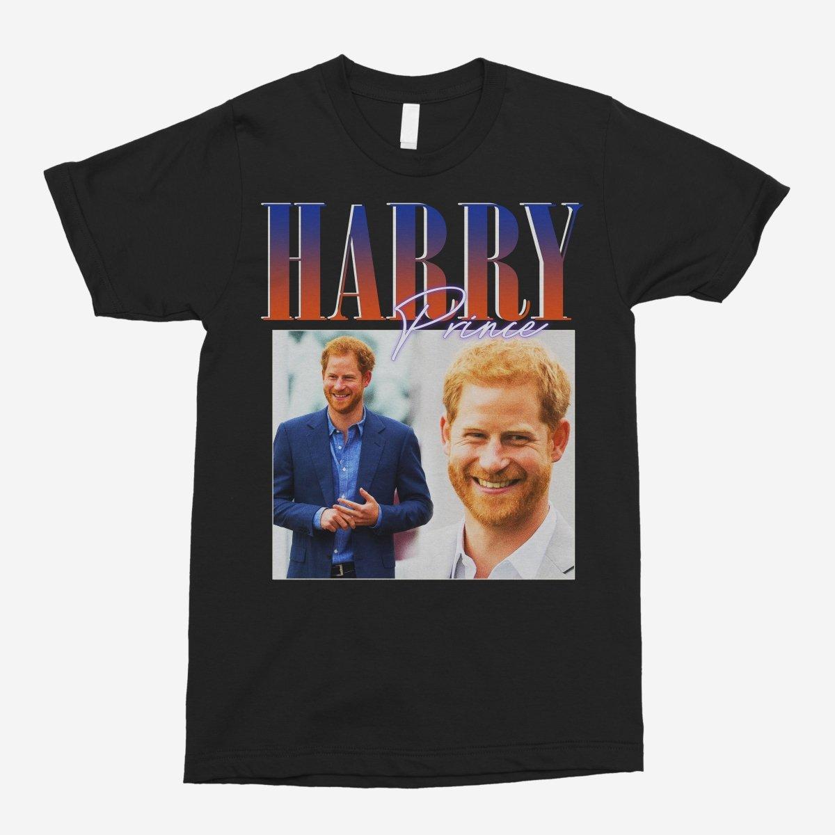 Prince Harry Vintage Unisex T-Shirt