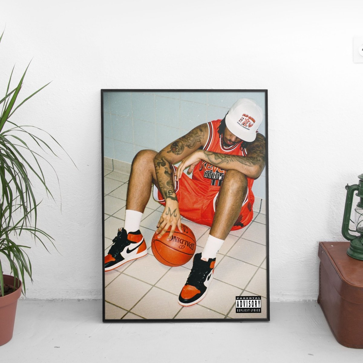 AJ Tracey - Flu Game Cover Art Poster