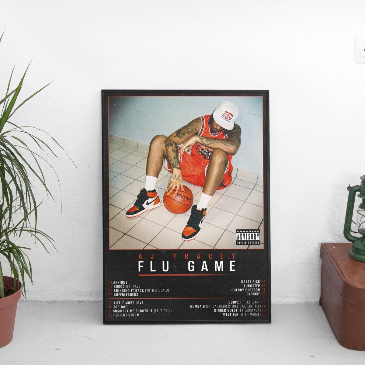 AJ Tracey - Flu Game Tracklist Poster