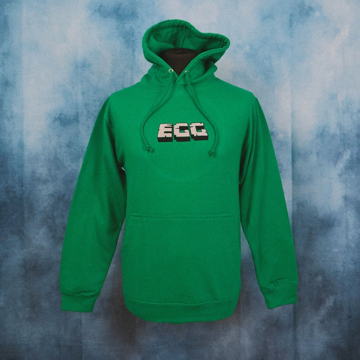 Epic Gamer Grandma - Minecraft EGG Green Embroidered Hoodie