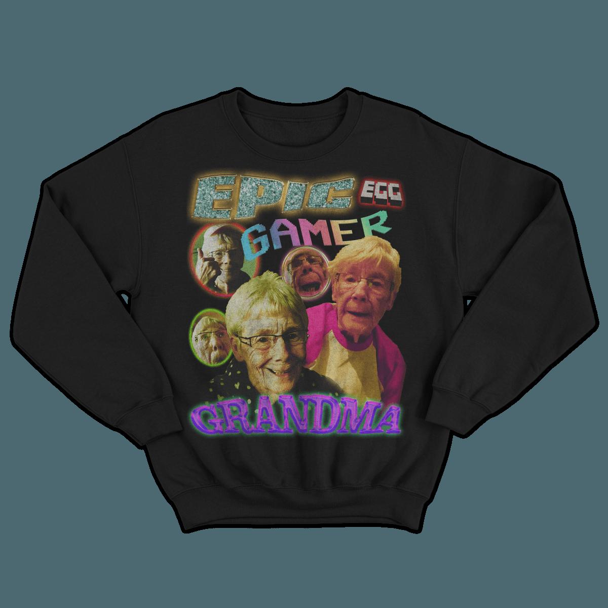 Epic Gamer Grandma - Vintage Bootleg Unisex Sweater