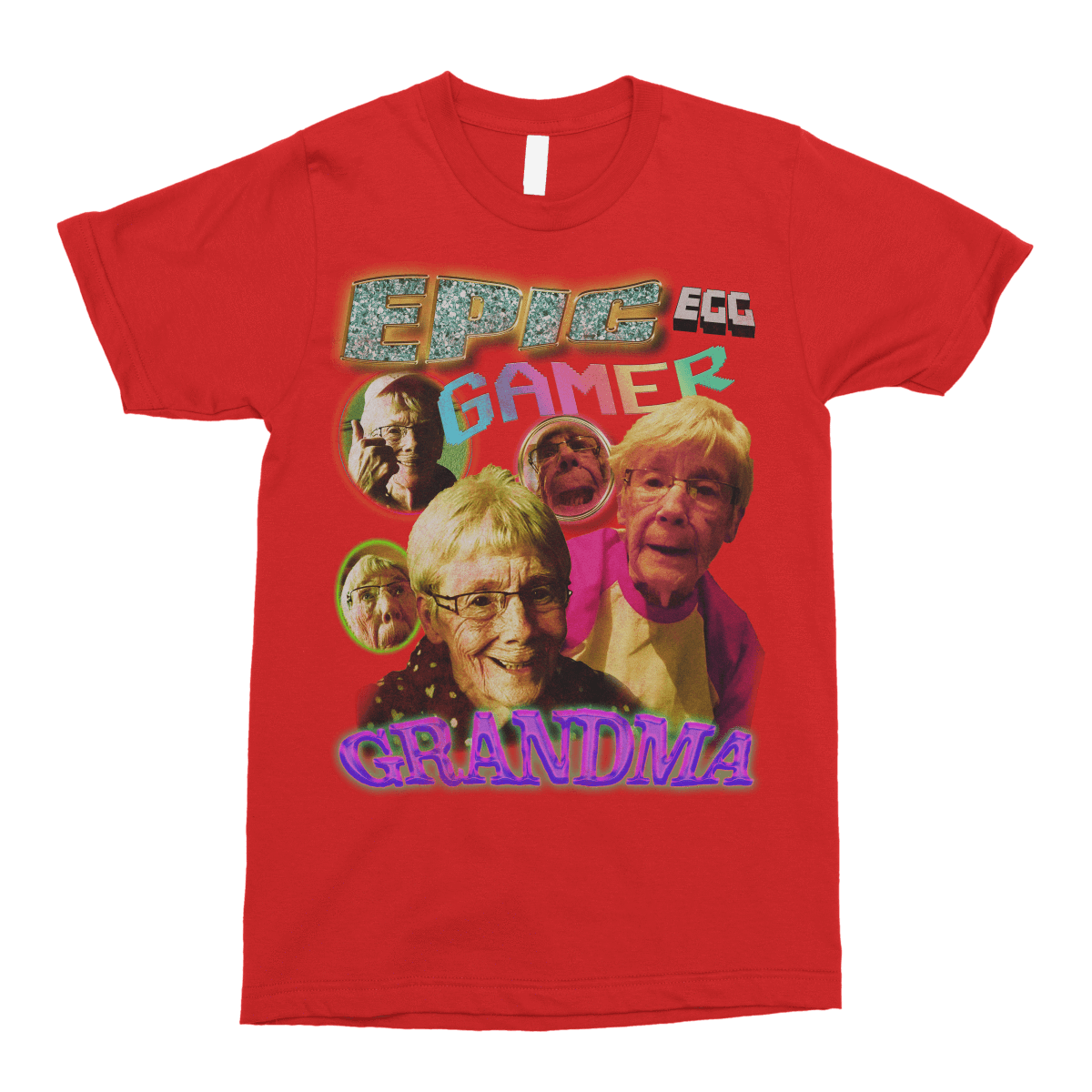 Epic Gamer Grandma - Vintage Bootleg Unisex T-Shirt