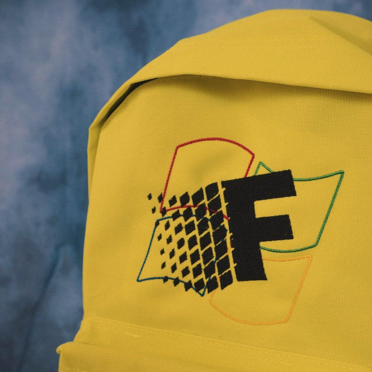 Fresh Vista Fluorescent Yellow Backpack
