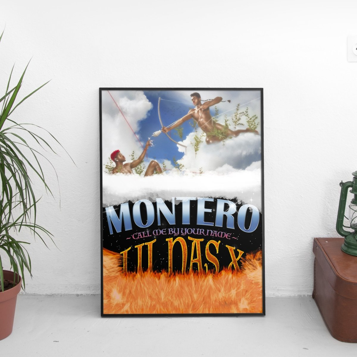 Lil Nas X - Montero (Call Me By Your Name) Heaven & Hell Poster