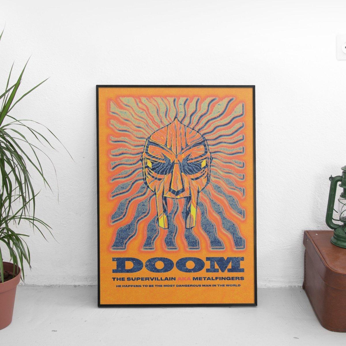 MF Doom - The Supervillain Poster