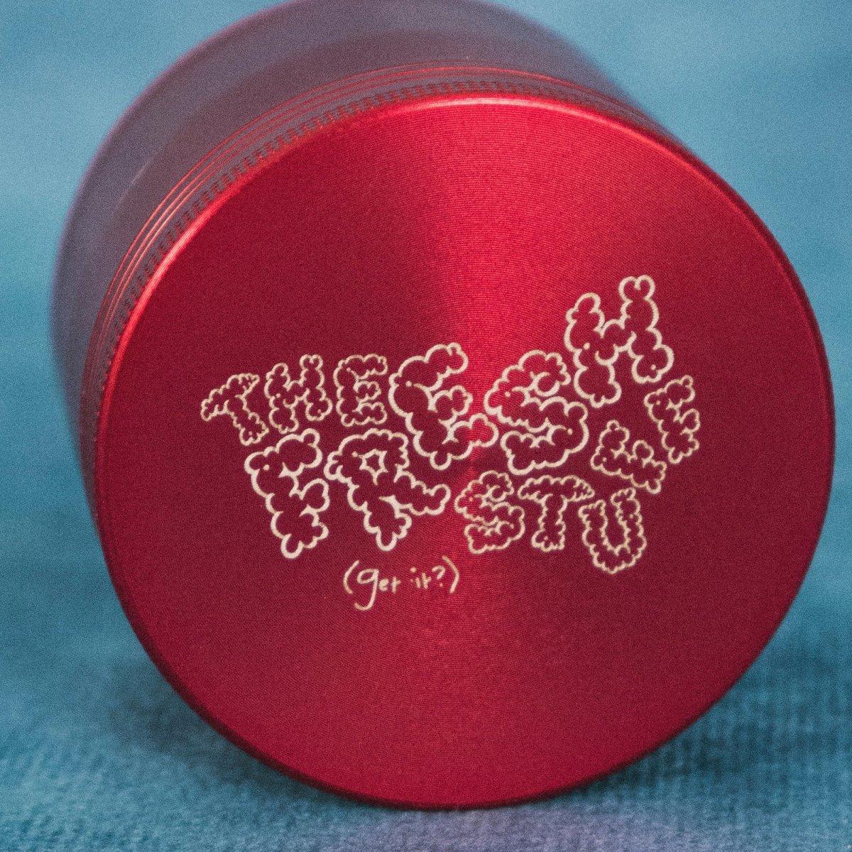 TFS Red Herb/Tobacco Grinder