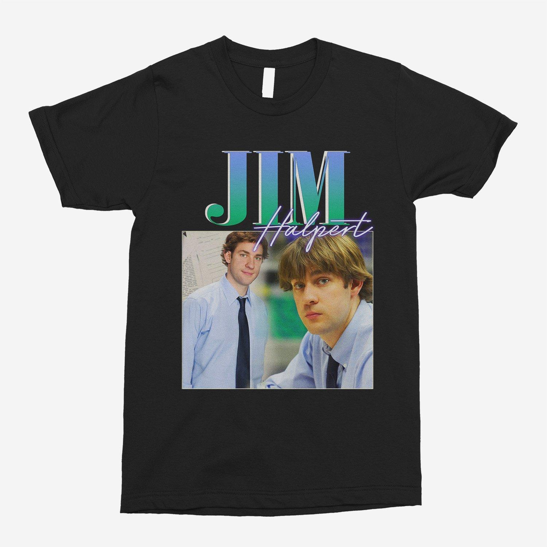 Jim Halpert Vintage Unisex T-Shirt