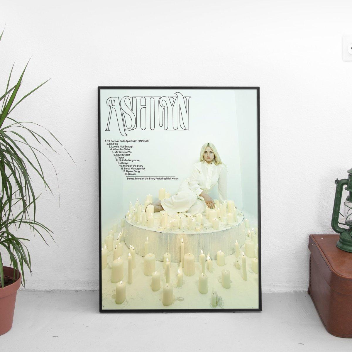 Ashe - Ashlyn Tracklist Poster