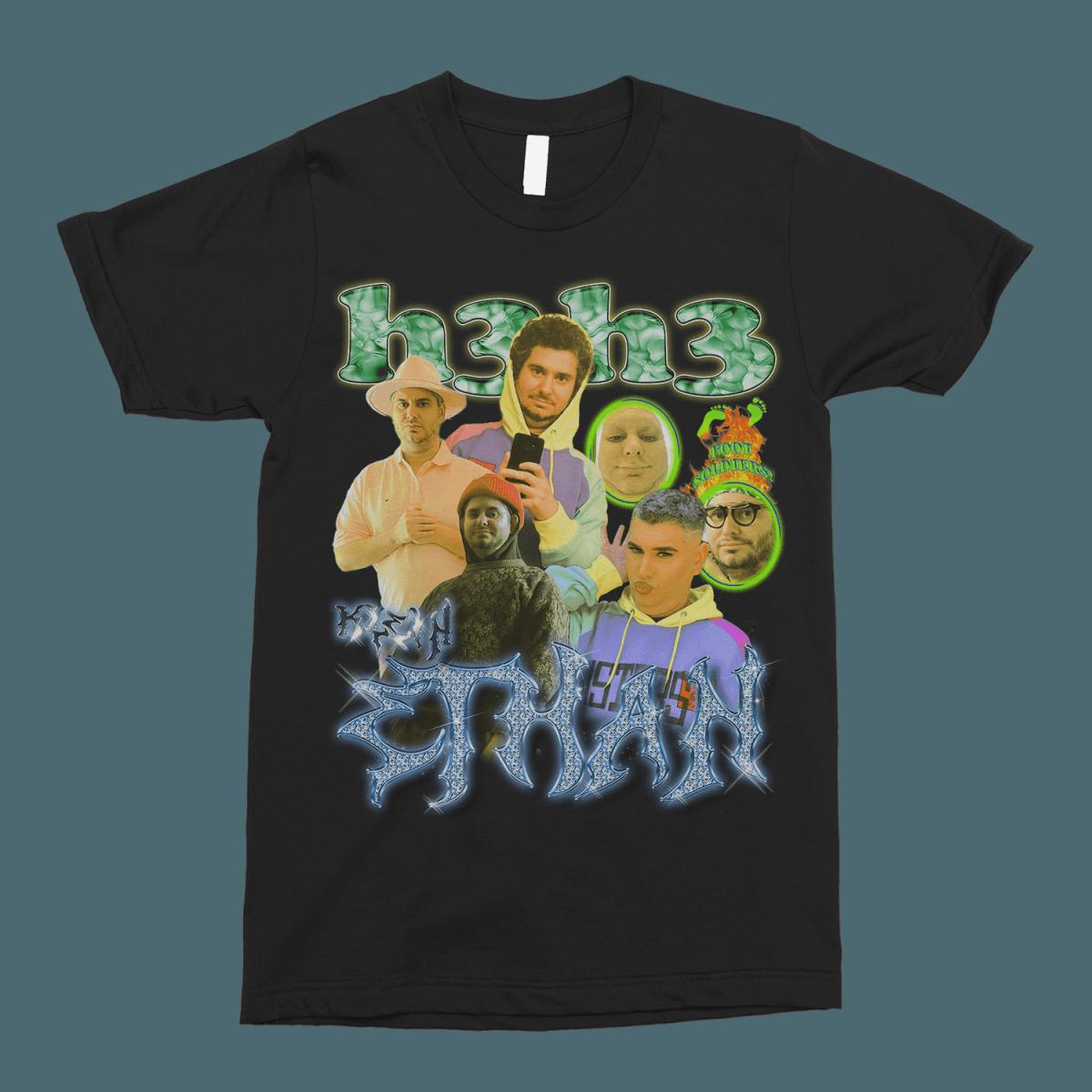 Ethan Klein (h3h3) Vintage Bootleg Unisex T-Shirt