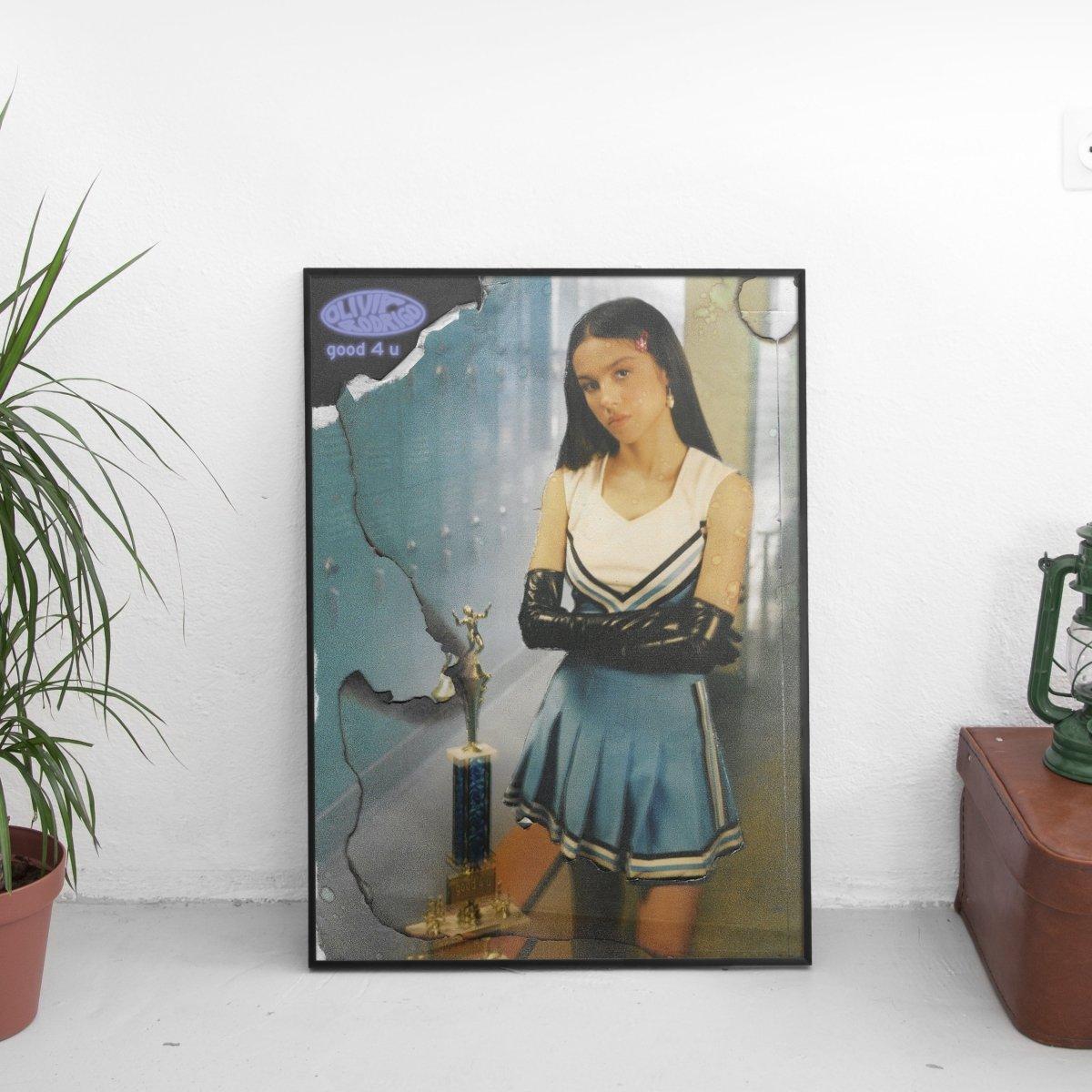 Olivia Rodrigo - good 4 u Cover Art Poster