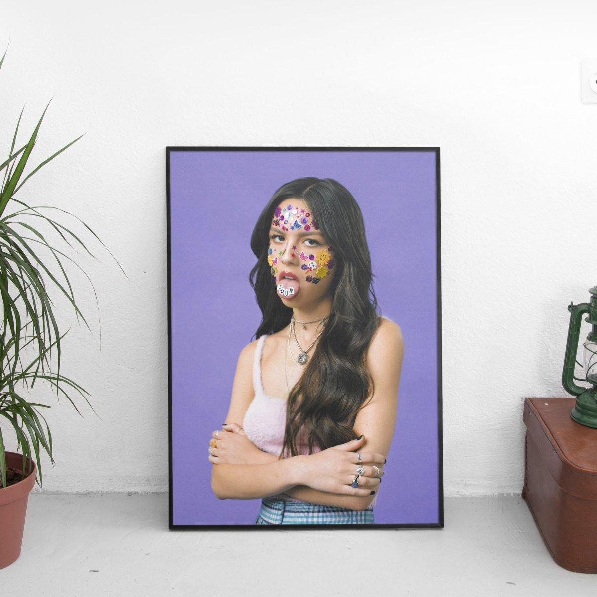 Olivia Rodrigo - SOUR Cover Art Poster