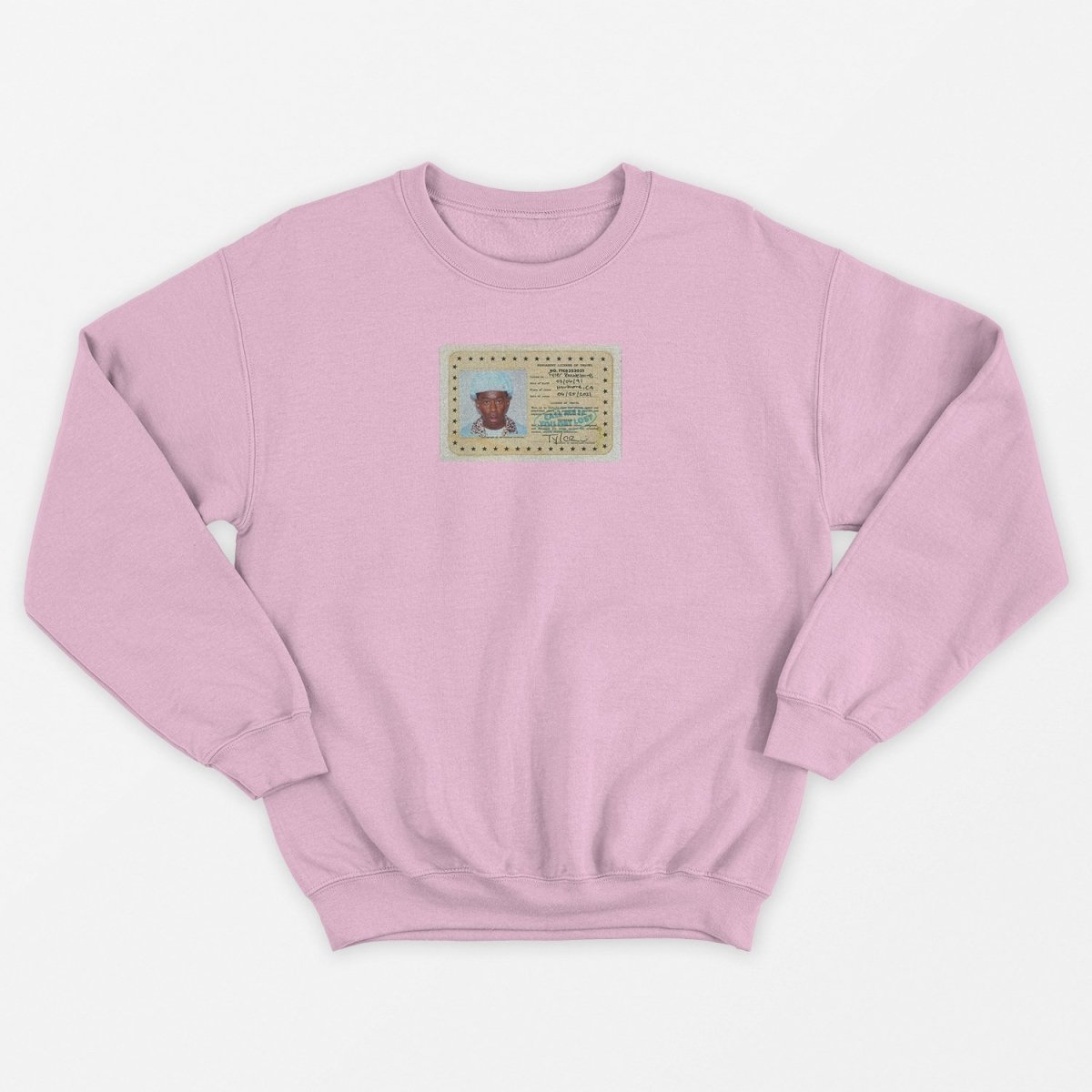 Tyler, The Creator - Call Me If You Get Lost (ID Card) Unisex Sweater